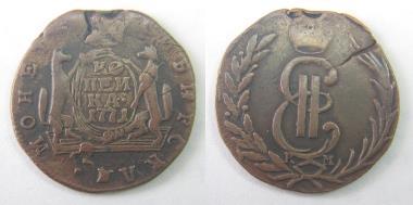 1 сибирская копейка 1771 года