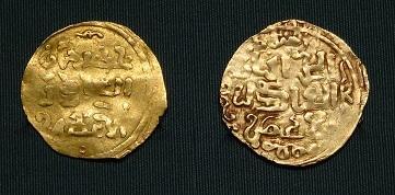 Золотые монеты Чингисхана
