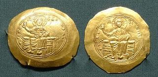 Византийские золотые монеты