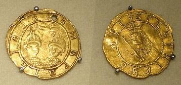 Жалованная монета Софьи Алексеевны